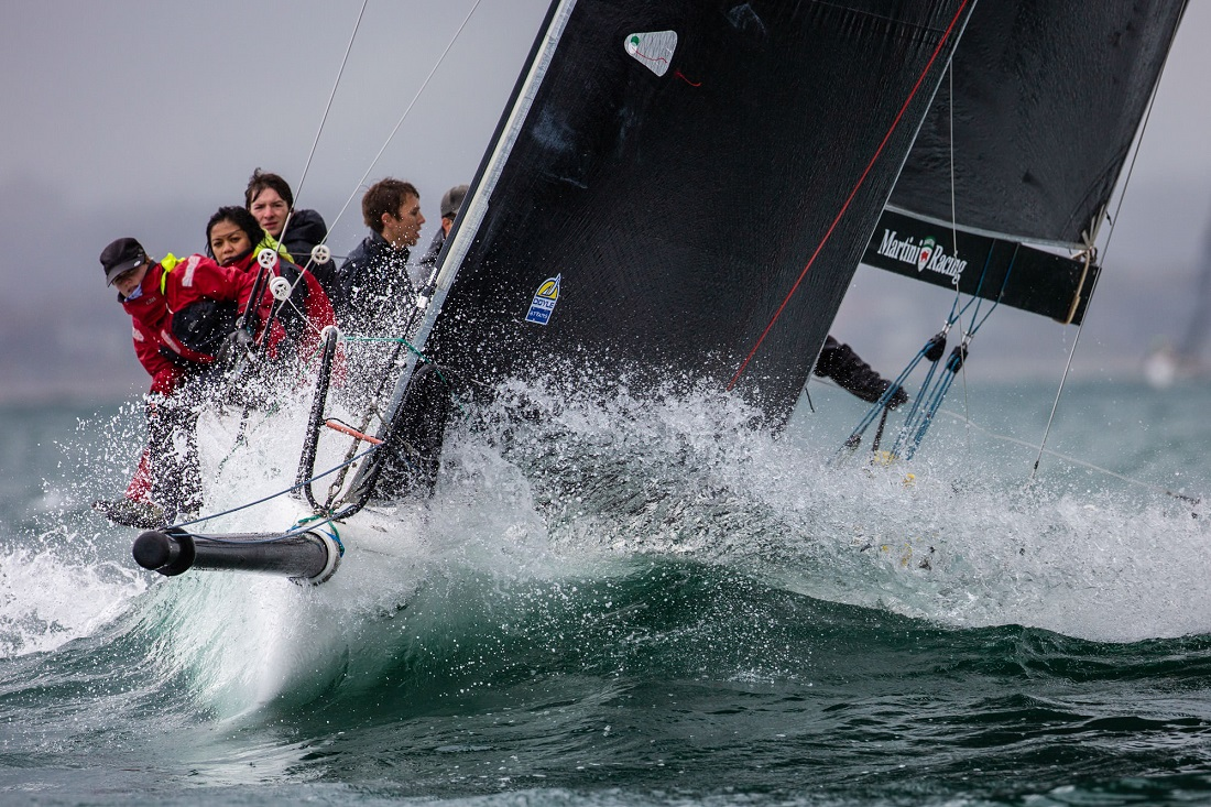 A picture tells a thousand words about the weather - Bruno Cocozza pic - BLiSS Regatta.