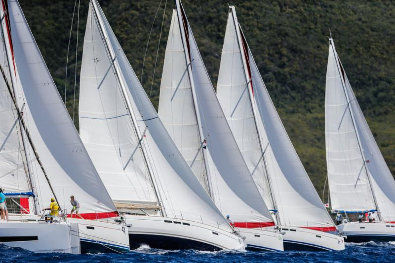 Competitive bareboat classes at Antigua Sailing Week © Paul Wyeth/pwpictures.com