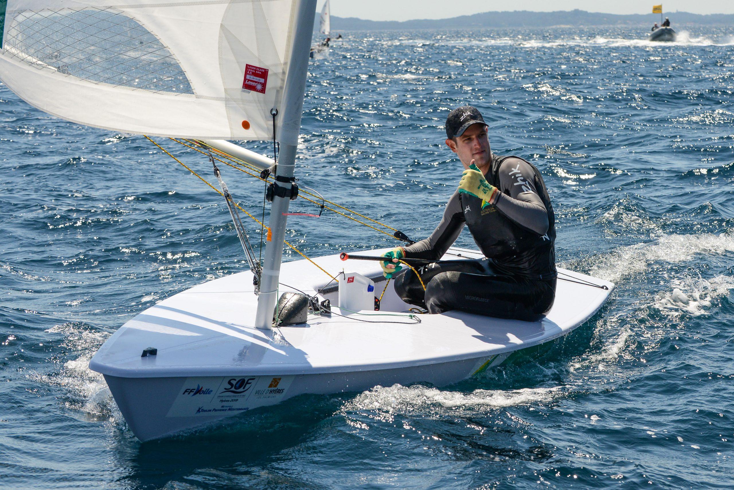 Matt Wearn won the Medal Race and won Gold by a motza