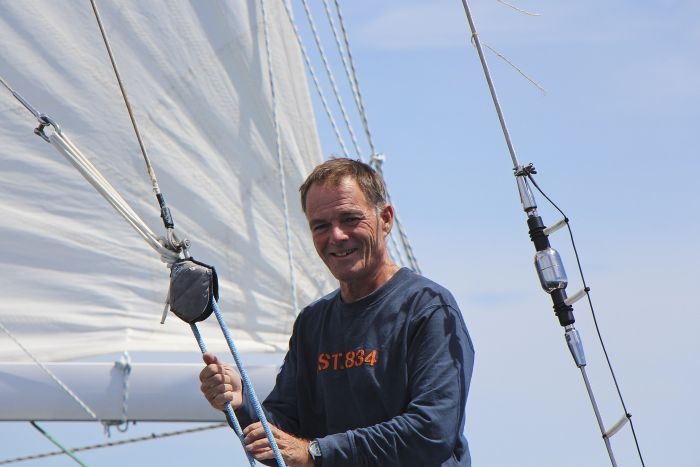 Bright and cheerful Tapio has enjoying his extended solo circumnavigation