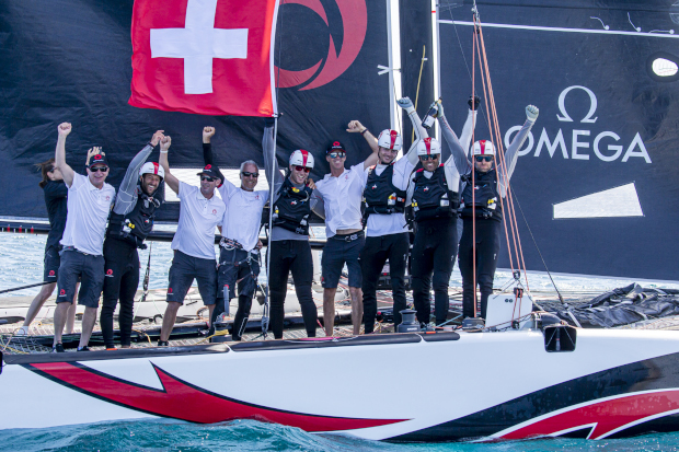 Alinghi dominated the GC32 World Championship to win by two races. Photo: Sailing Energy / GC32 Racing Tour