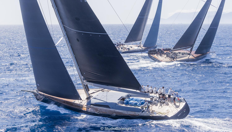 Wally fleet at the Loro Piana Superyacht Regatta 2019 - Photo credits YCCS - Carlo Borlenghi.