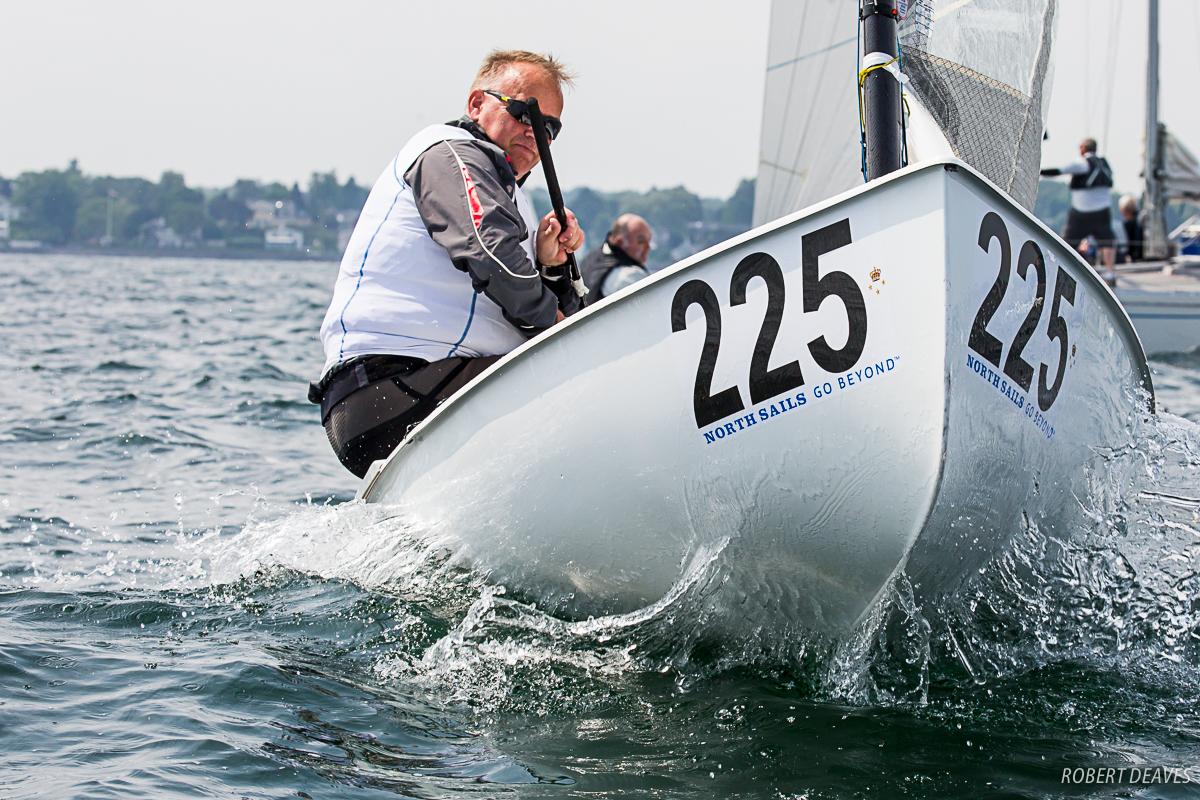 Johan Wijk - Some big chop still around. Photo Robert Deaves.