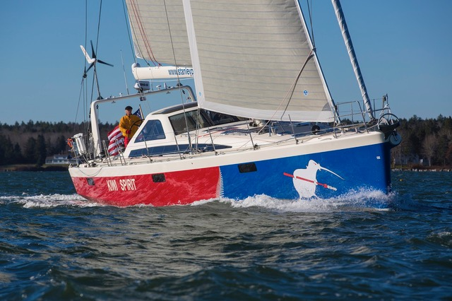 The scratch boat this year is a family sailed Farr 63 called Kiwi Spirit