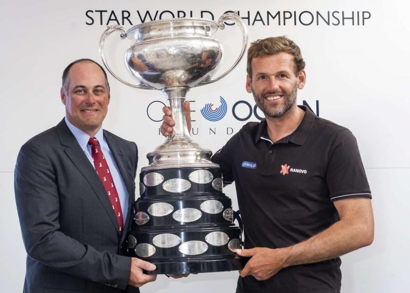 Mateusz Kusznierewicz and Bruno Prada winners at the Star World Championship 2019. Photo credit: YCCS/Studio Borlenghi
