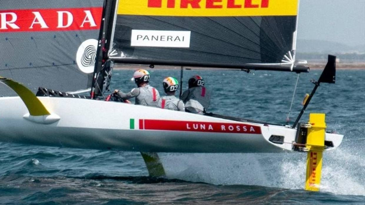 Italian challenger of record Luna Rossa have launched an America's Cup test boat. Photo Luna Rossa.