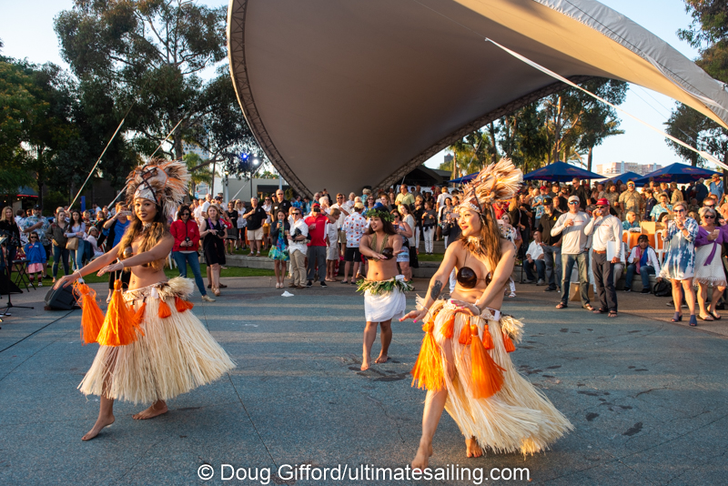 The Aloha Spirit was alive and well at the traditional Transpac Send-off Party on Saturday.