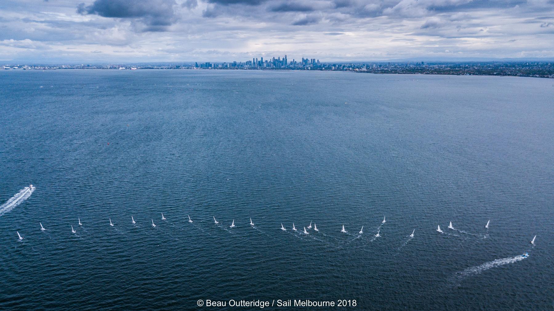 Sail Melbourne 2018. Photo Beau Outteridge.