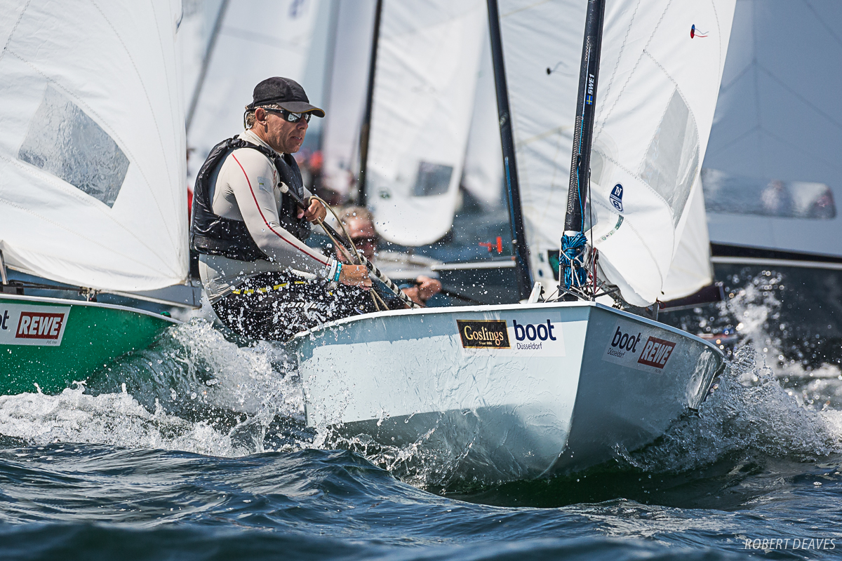 Thomas Hansson-Mild is OK Dinghy World No. 1 for the first time. Photo Robert Deaves.