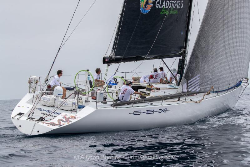 OEX after the start. After a long day first day and night of no wind