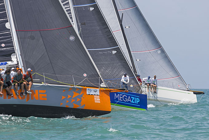 Close on the IRC 1 start. Photo by Guy Nowell.