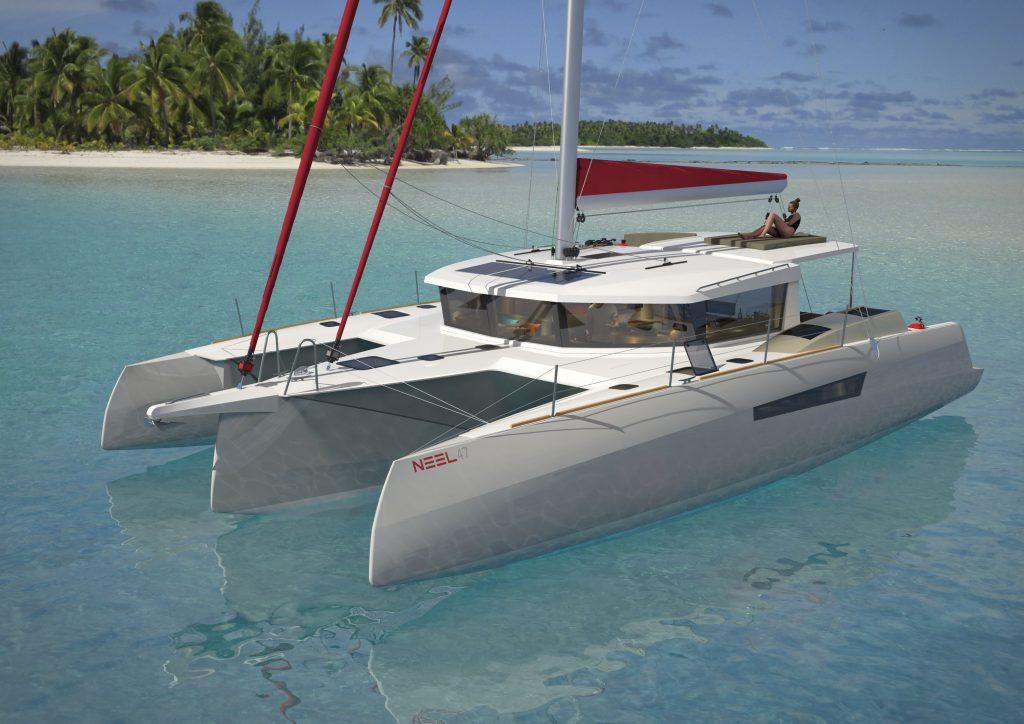 NEEL Trimarans has announced its latest model