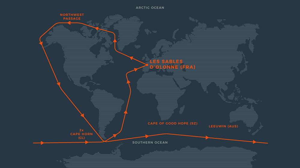 Route Map Norbert Sedlacek