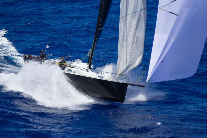The high-speed conditions that require strong sails: Bretwalda at speed - photo Sharon Green/Ultimate Sailing.
