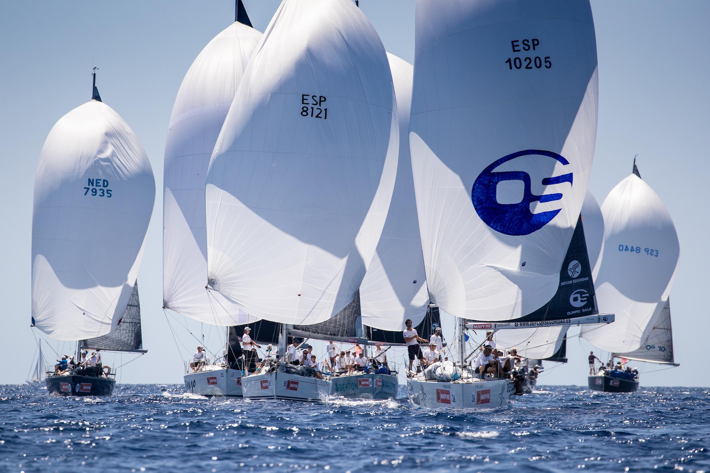 ORC 3 fleet on the Bay of Palma - Maria Muina pic