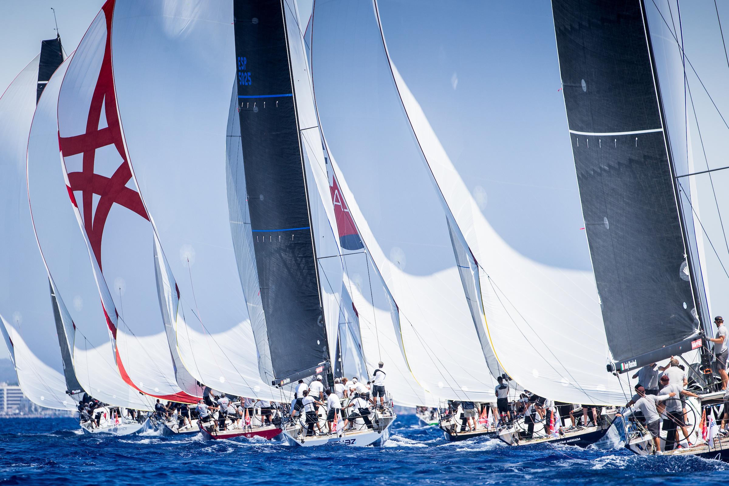Clubswan-50-fleet-on-the-Bay-of-Palma---Maria-Muina-pic