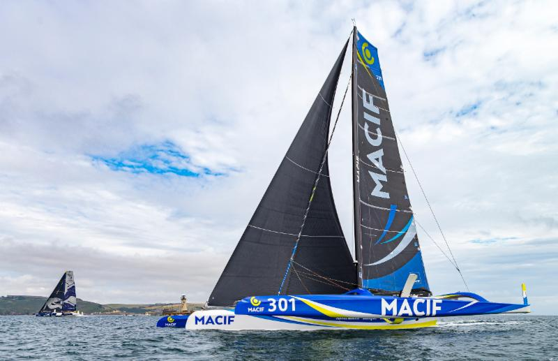 Beaten by a breath at the finish - MACIF