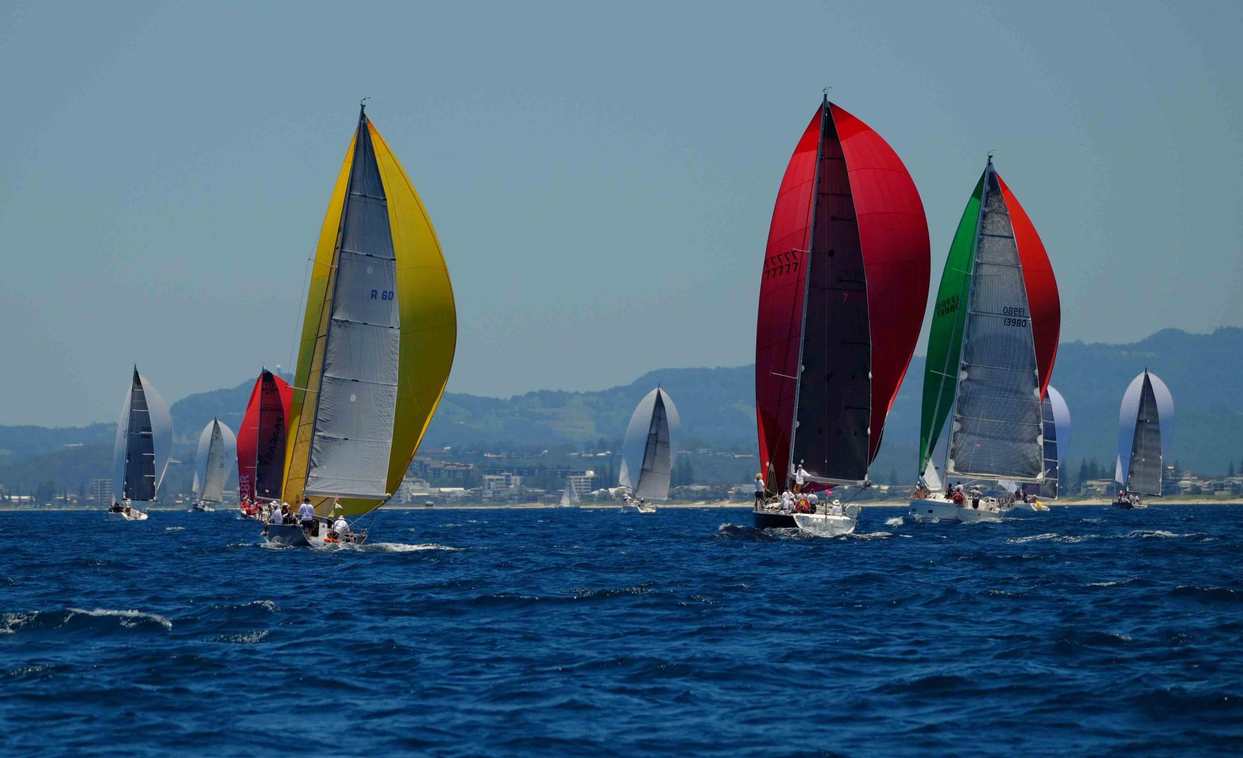 Sail Paradise Regatta. Photo credit Surf Sail Kite.