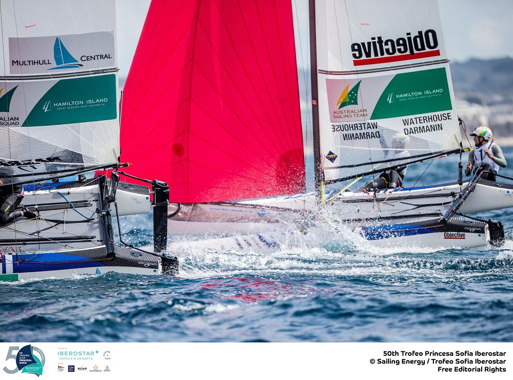 Jason Waterhouse and Lisa Darmanin - Australia's hopes in the Nacra 17
