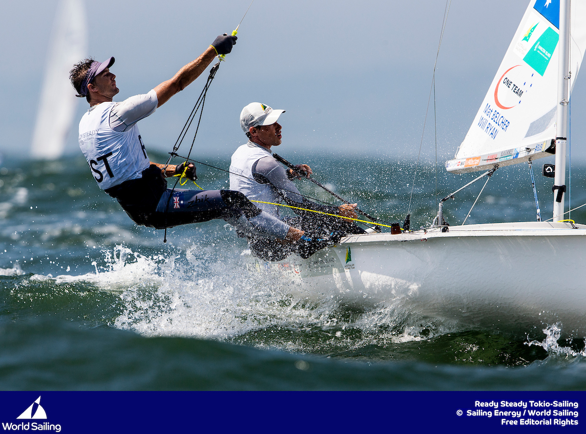 Mat Becler and Will Ryan in form - Sailing Energy pic