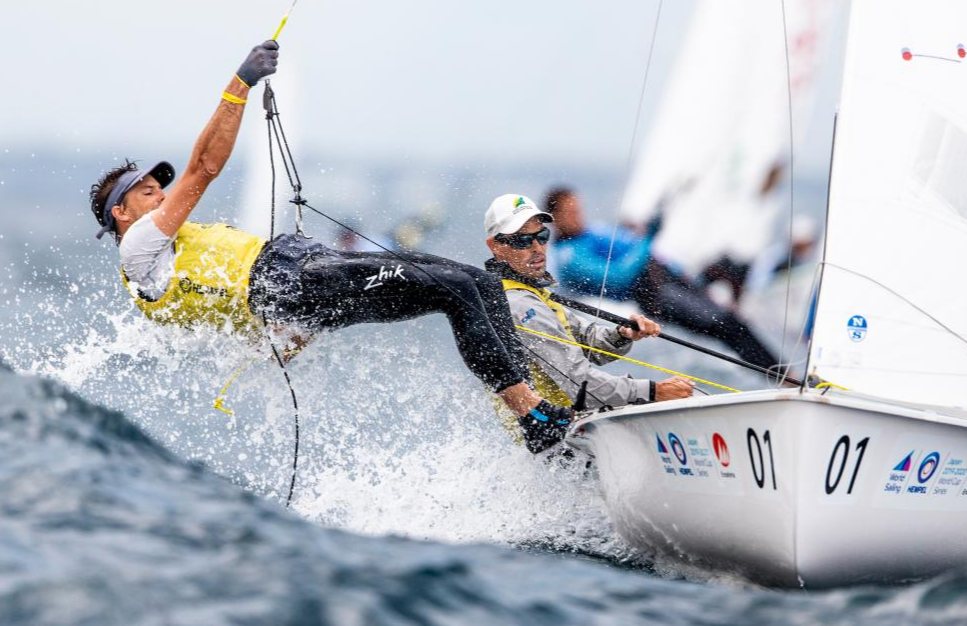 Mat Belcher and will Ryan in fine form - Sailing Energy pic