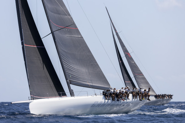 Cannonball on her way to victory - Studio Borlenghi pic