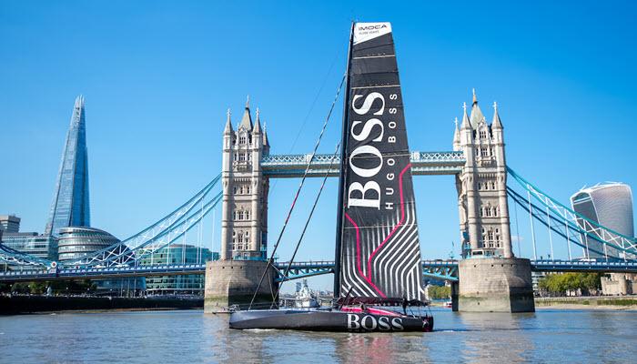 The new Hugo Boss at Tower Bridge. Photo the PHA Group.