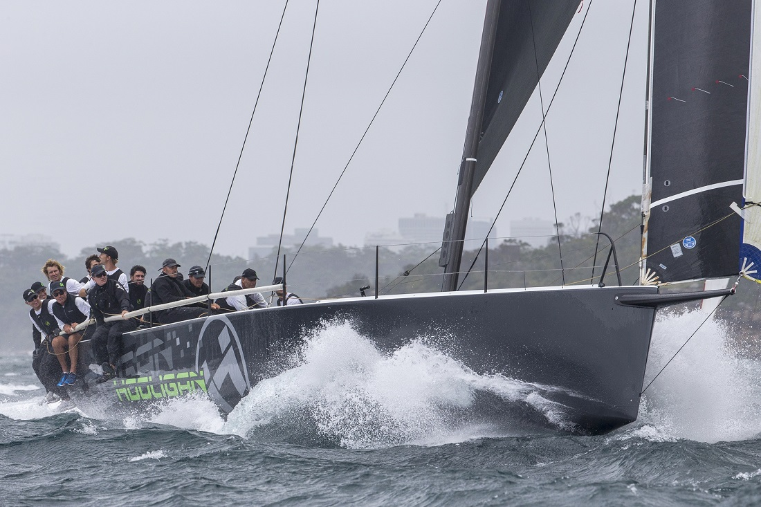 Hooligan on her way to 2018 victory - Andrea Francolini pic - SSORC.