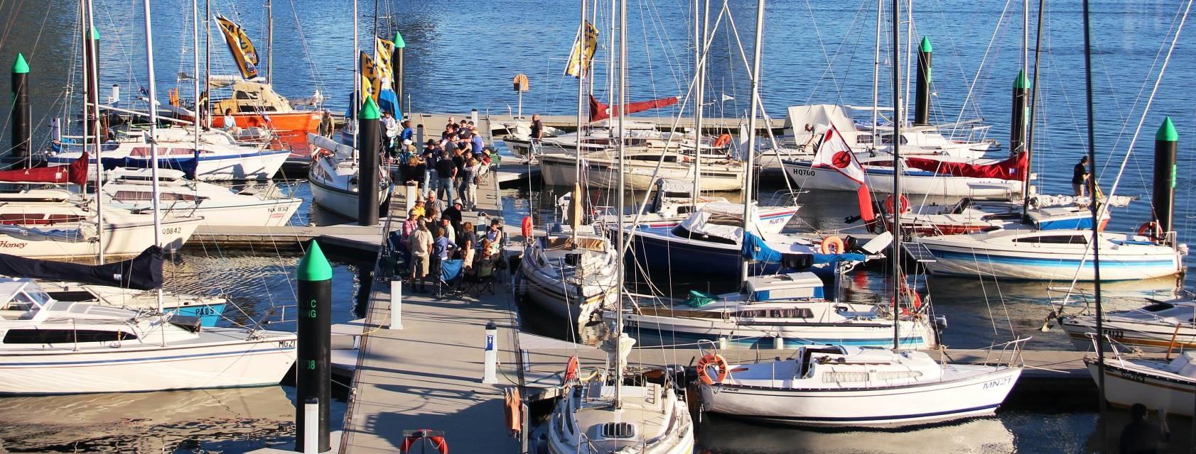 Trailable yacht season opener 2018.