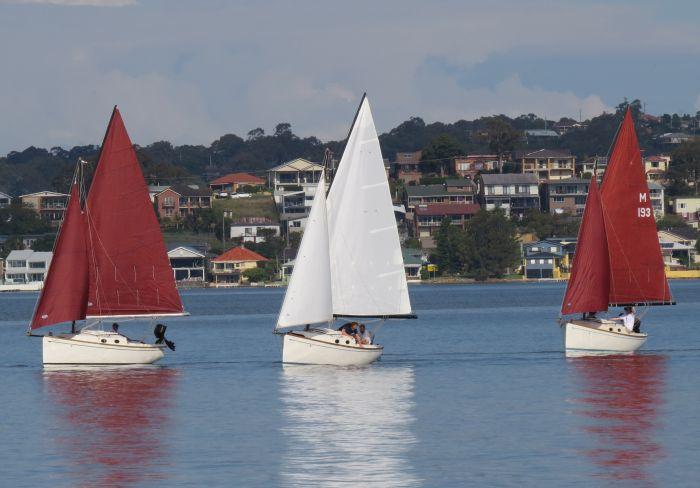 Cygnet 20 trailer sailer from Bluewater Cruising Yachts