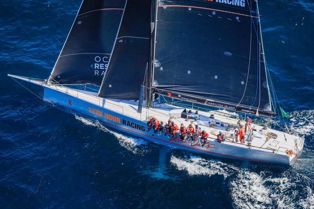 Wild Oats X - pic courtesy Ocean Respect Racing.