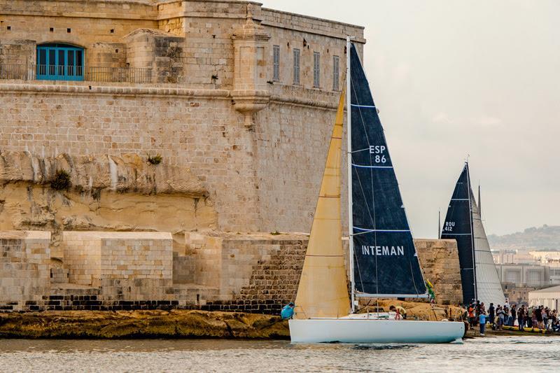 Inteman arrives in Malta - Alex Turnbull pic