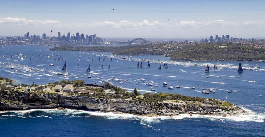 A big fleet will take on the historic 2019 Rolex Sydney Hobart Yacht Race - the 75th Sydney Hobart - starting on Boxing Day on spectacular Sydney Harbour. (Credit - ROLEX/Studio Borlenghi)