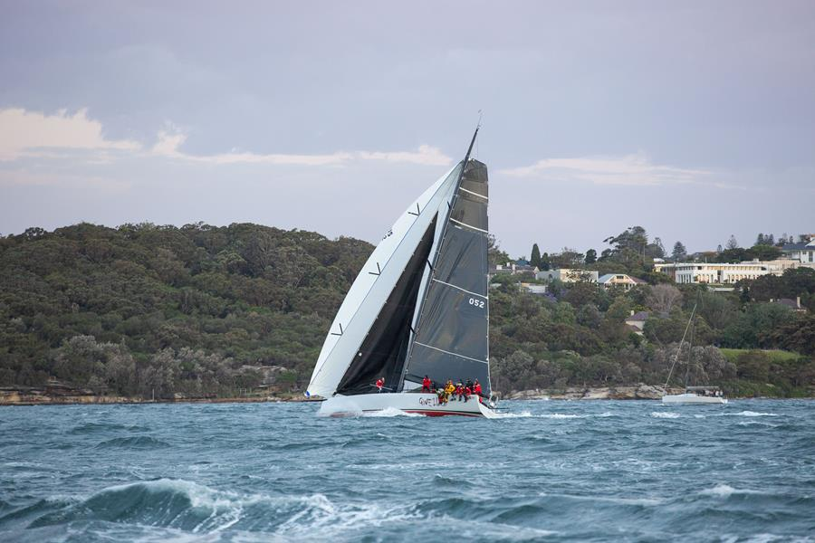 Gweilo takes their first IRC Overall win and look to continue their form for the rest of the season. Credit - CYCA/Hamish Hardy.
