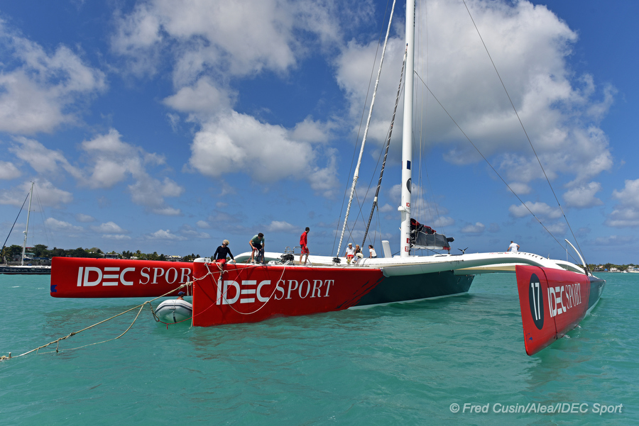 IDEC Sport. Photo © Fred Cusin / ALEA / IDEC SPORT