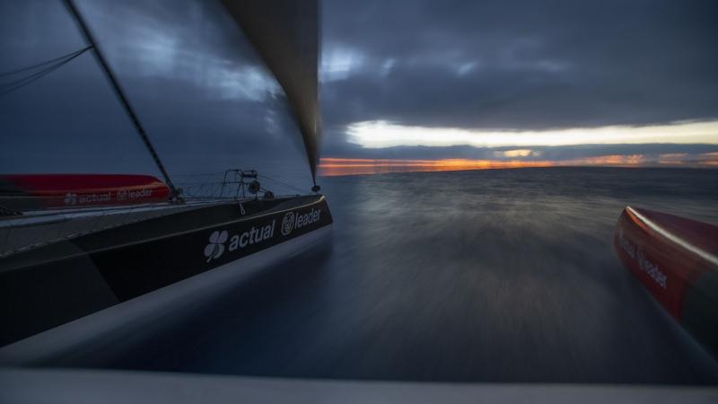 Brest Atlantiques. Photo Ronan Gladu / Actual Leader .