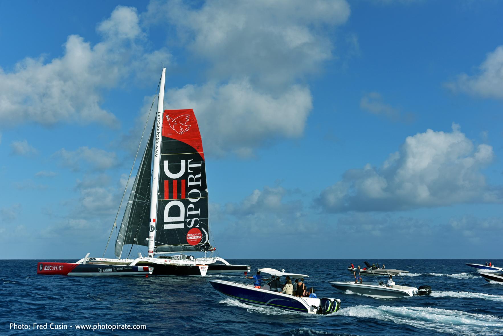 IDEC Sport - Fred Cusin pic