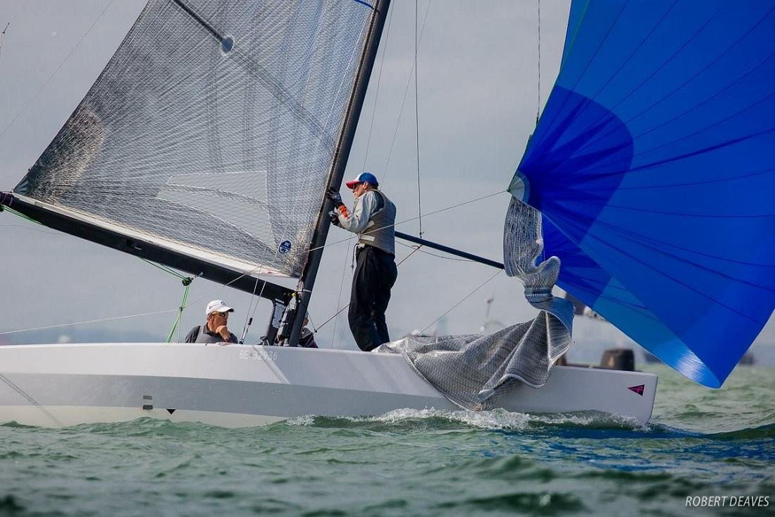 Champion Aussie sailor Rob Brown will steer Alpha Crucis - Robert Deaves pic - 5.5 Metre Worlds.