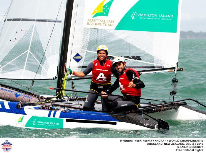 Jason Waterhouse Lisa Darmanin CREDIT Sailing Energy.