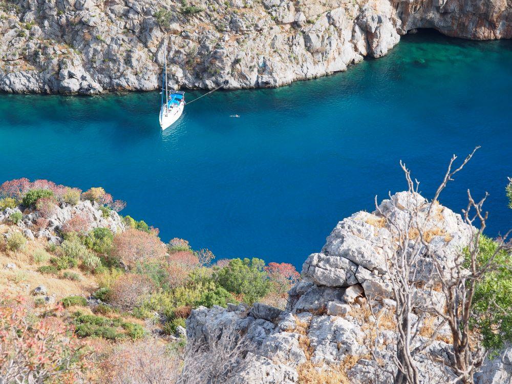 Mariner Boating Greek Islands cruise - Kalimnos.