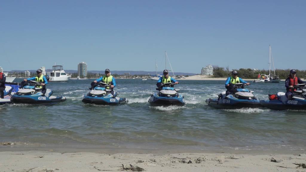 Queensland Maritime Enforcement Team.
