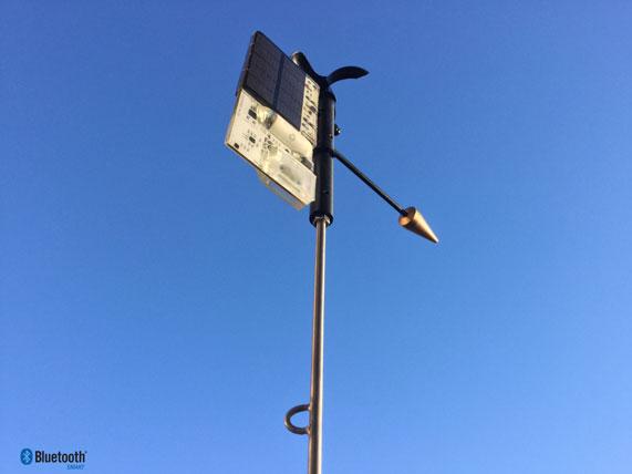 The new SailTimer wind instrument.