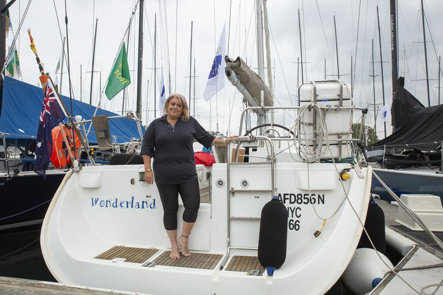 Rebecca Connor will make history in the 2019 Rolex Sydney Hobart. Credit CYCA/Hamish Hardy