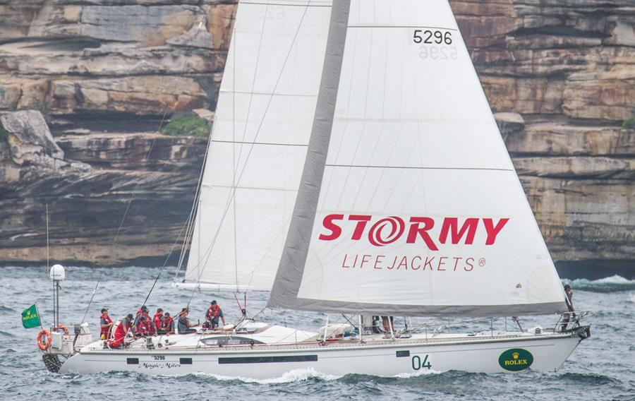 Magic Miles will be showcasing a unique duo during this years Rolex Sydney Hobart Yacht Race. Credit - CYCA