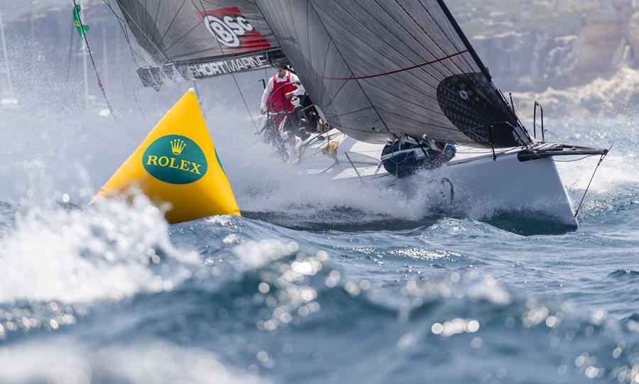 The start of the 2019 Rolex Sydney Hobart Yacht Race had plenty of challenges for big and small. Credit ROLEX/Studio Borlenghi.