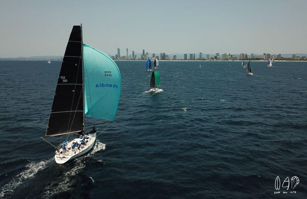 Sail Paradise. Photo Surf Sail Kite.
