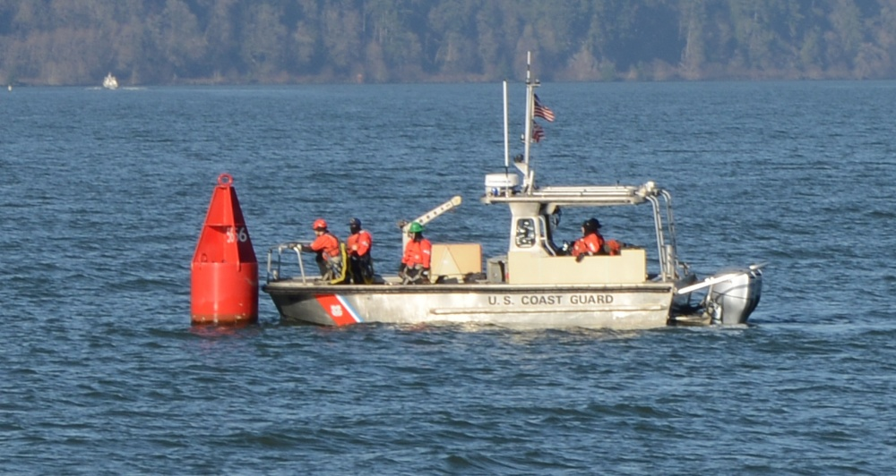 Coast Guard Trailerable Aids to Navigation boat