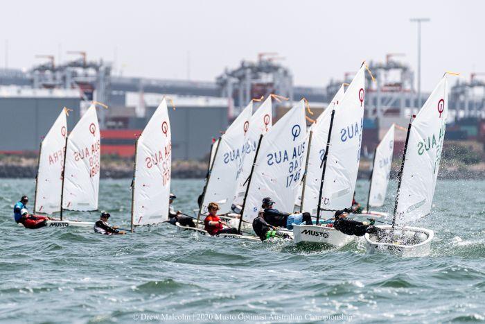 Optimist Australian Championships 2020. Photo Drew Malcolm .