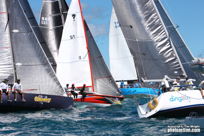 Pure Grenada Race Day One delivered perfect conditions for the first day of racing. (Photo: Tim Wright)