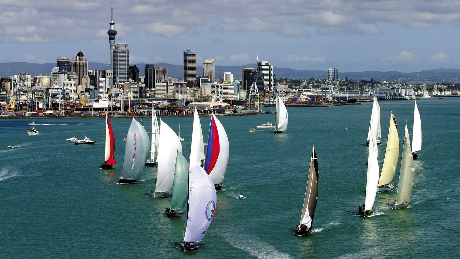 Competitors have this to look forward to in Auckland - pic courtesy RNZYS.